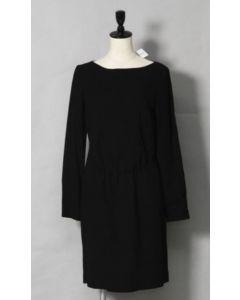 BALENCIAGA DRESS-MID LENGTH/SIZE 38/BLK