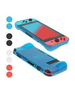 Protective Case for Nintendo Switch, Cover Case with Shock Absorption and Anti-Scratch Design -Comfortable TPU Back Cover for Nintendo Switch