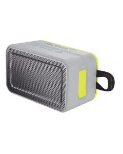 Skullcandy Wireless Portable Speaker, Grey and Yellow
