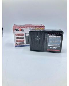 NUSHI PORTABLE RADIO-FM/AM/NEW/SUP
