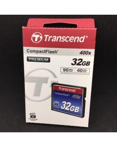TRANSCEND COMPACTFLASH CARD 400X-32GB (PREMIUM) TS32GCF400
