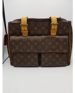 LOUIS VUITTON MONOGRAM BROWN LADIES TOTE BAG