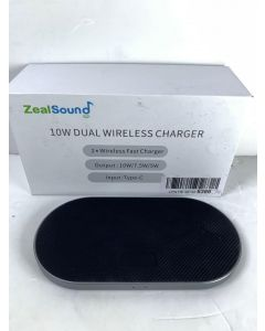 ZealSound DUAL WIRELESS CHARGER  - 10W