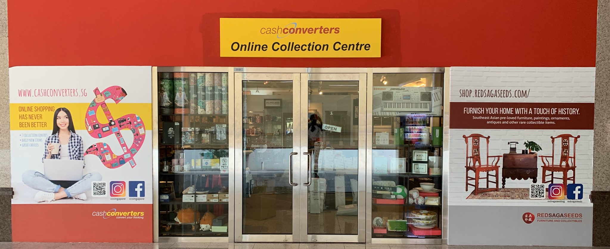 ECOMMERCE COLLECTION CENTRE